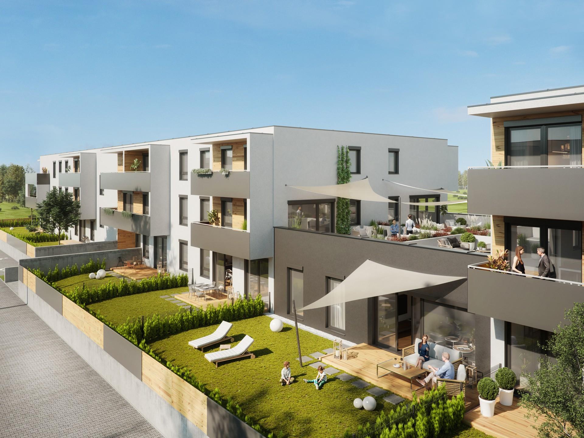 Apartamenty Natura 2 - wizualizacja 3