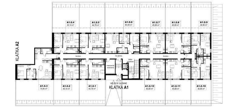 Apartamenty Natura 2 - budynek A1 - parter