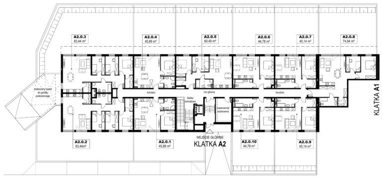 Apartamenty Natura 2 - budynek A2 - parter
