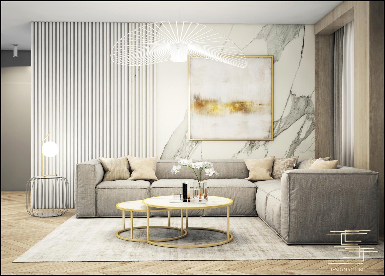 Apartamenty Natura 2 - mieszkanie pokazowe D2-3 - wizualizacja 01
