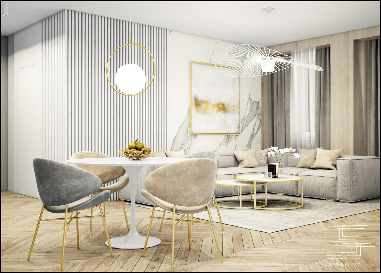 Apartamenty Natura 2 - mieszkanie pokazowe D2-3 - wizualizacja 02