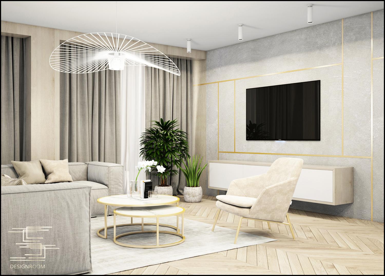 Apartamenty Natura 2 - mieszkanie pokazowe D2-3 - wizualizacja 03