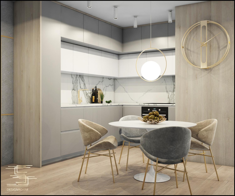 Apartamenty Natura 2 - mieszkanie pokazowe D2-3 - wizualizacja 04