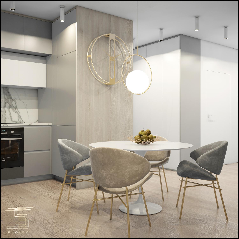 Apartamenty Natura 2 - mieszkanie pokazowe D2-3 - wizualizacja 05