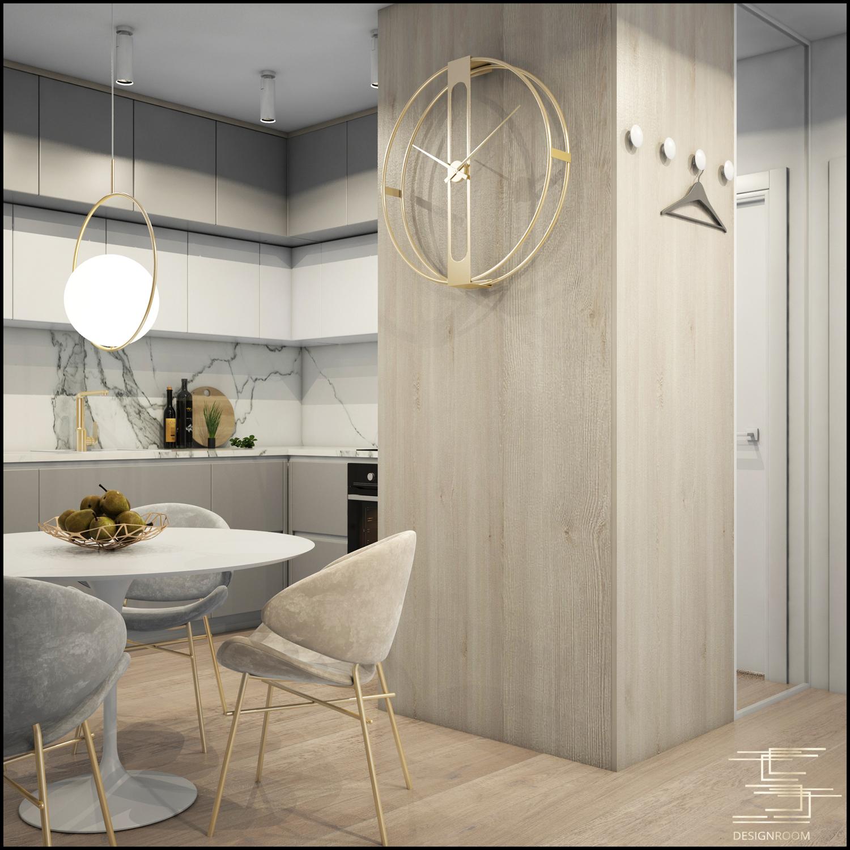 Apartamenty Natura 2 - mieszkanie pokazowe D2-3 - wizualizacja 11