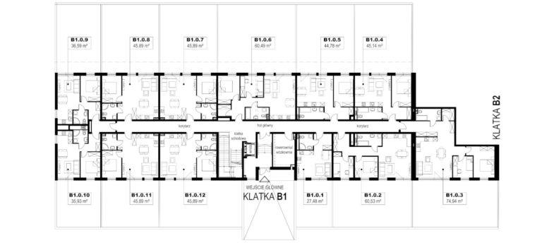 Apartamenty Natura 2 - budynek B1 - parter