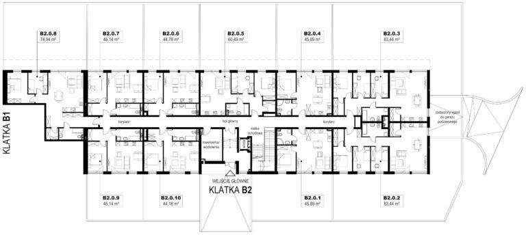 Apartamenty Natura 2 - budynek B2 - parter
