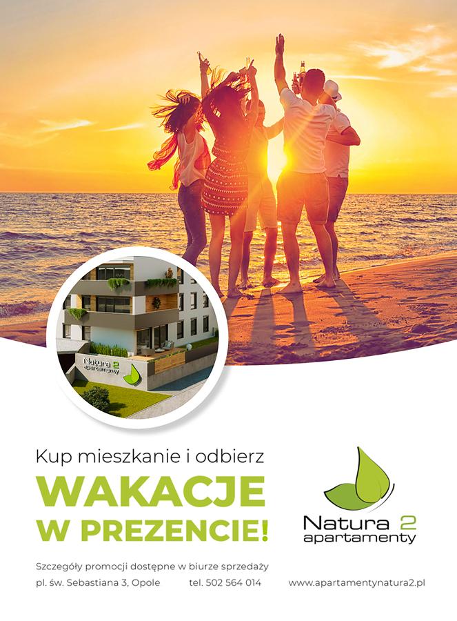 Apartamenty Natura 2 - voucher 1 na wakacje