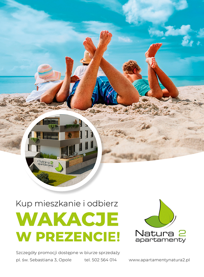 Apartamenty Natura 2 - voucher 2 na wakacje